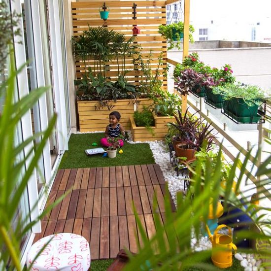 7 DIY Balcony Garden Decor | Indian Balcony Garden ...