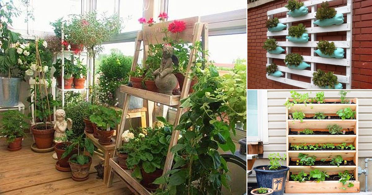 Creative Vertical Balcony Garden Ideas, Balcony Gardening Ideas