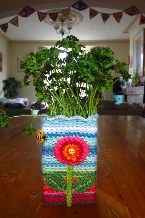 Houseplant Pot Cover Ideas 6