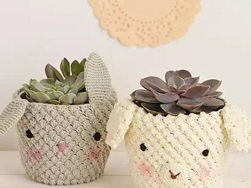 Houseplant Pot Cover Ideas 9