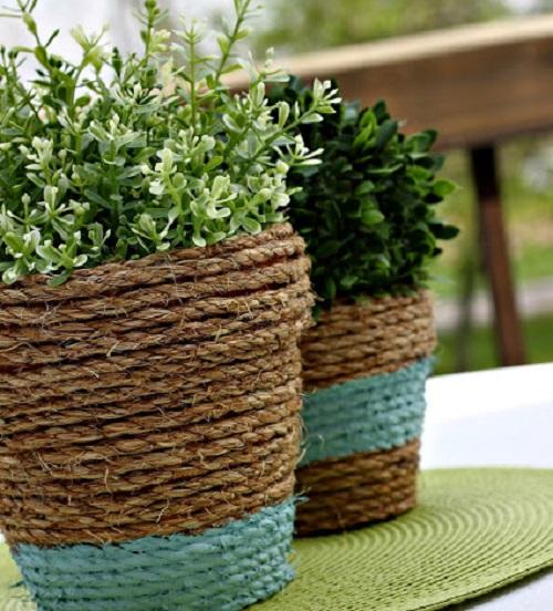 Houseplant Pot Cover Ideas 4