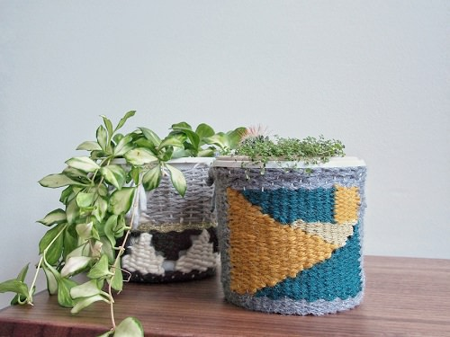 Houseplant Pot Cover Ideas 8